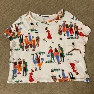 Zara women's shirt Large